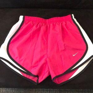 Nike pink dri fit shorts